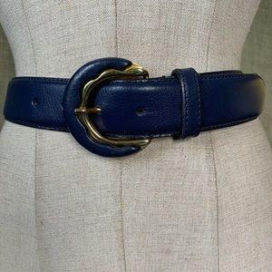 Vintage Jacqueline Ferrar leather belt Medium